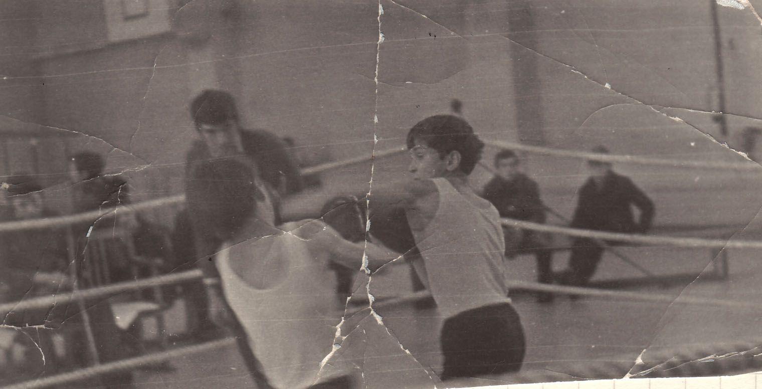 1976. Kisel 1.Bokx kampf