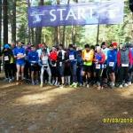 Startschuss 75 km u. 15 km