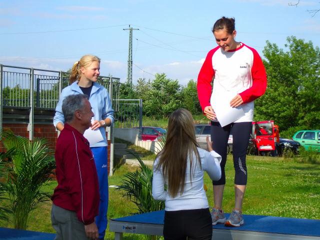 Siegerehrg.800m 2.Platz W. Borgwardt