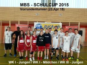 F. - S. Gymn. KW qualifiziert für Finale - 7.Sparkassenschulcup